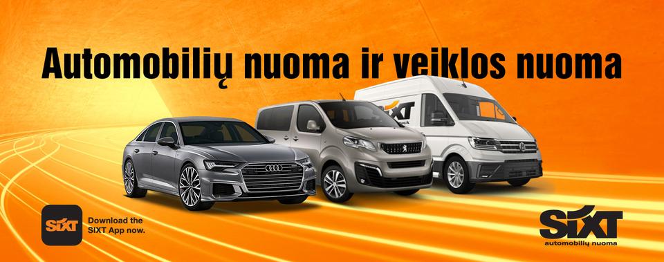Automobilių nuoma SIXT
