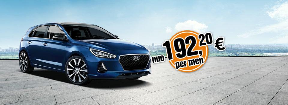 Hyundai-i30 | Automobilių veiklos nuomos | Automobiliu lizingas įmonėms