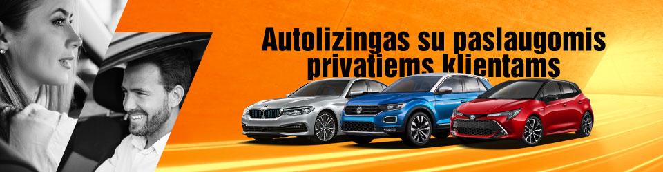 Autolizingas su pilnu aptarnavimu privatiems klientams | Sixt Leasing