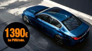 BMW 5 series mini lizingas šiandien