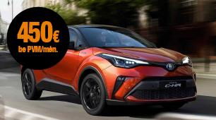 Automobilio Toyota C-HR mini lizingas įmonėms