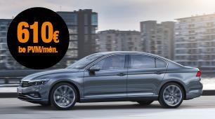 Automobilio VW Passat mini lizingas šiandien