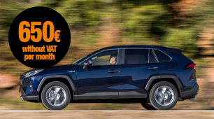 Toyota RAV4 with no long-term commitment