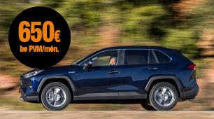 Toyota RAV4 mini lizingas be jokių ilgalaikių įsipareigojimų