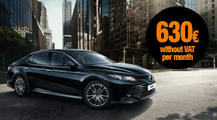 Toyota Camry car leasing, available today