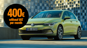 VW Golf car leasing, available today