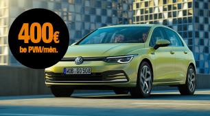 Automobilio VW Golf mini lizingas be pradinio įnašo