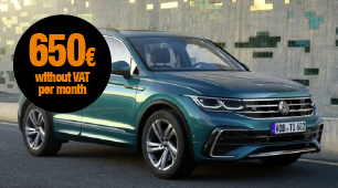 VW Tiguan with no long-term commitment