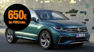 VW Tiguan mini lizingas be jokių ilgalaikių įsipareigojimų