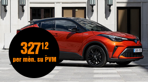 Toyota C-HR Crossover 1.2 Turbo Active Multidrive