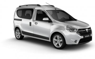 Dacia Dokker ilgalaikė automobilių nuoma | Sixt Leasing