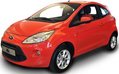 Ford Ka ilgalaikė automobilių nuoma | Sixt Leasing