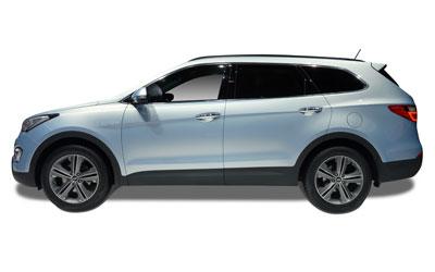 Hyundai Grand Santa Fe ilgalaikė automobilių nuoma | Sixt Leasing