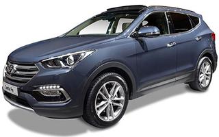 Hyundai Santa Fe ilgalaikė automobilių nuoma | Sixt Leasing