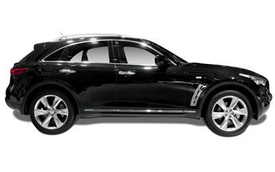 Infiniti QX70 ilgalaikė automobilių nuoma | Sixt Leasing