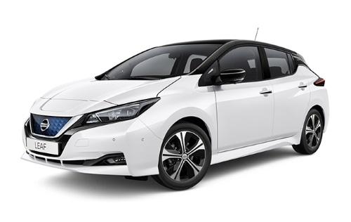 Nissan LEAF ilgalaikė automobilių nuoma   Sixt Leasing