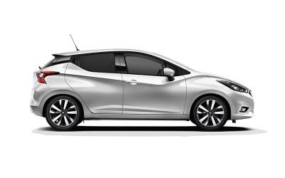 Nissan Micra ilgalaikė automobilių nuoma   Sixt Leasing
