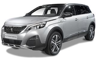 Peugeot 5008 ilgalaikė automobilių nuoma | Sixt Leasing