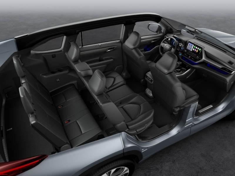 Toyota Highlander ilgalaikė automobilių nuoma   Sixt Leasing