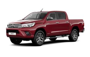 Toyota Hilux ilgalaikė automobilių nuoma | Sixt Leasing